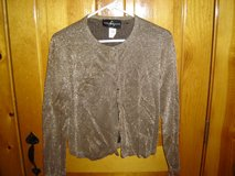 Gold Sparkle Sweater in Yorkville, Illinois
