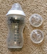 Tommee Tippee Bottle and extra nipples in Naperville, Illinois