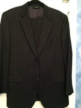 Dark striped suit in Kingwood, Texas