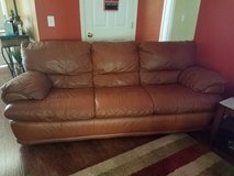 Leather sofa and loveseat in Hinesville, Georgia