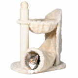 Cat Tree with a Bed & Rustling Tunnel for Play & Scratching Post in Perry, Georgia
