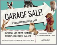 Garage Sale Pet Fundraiser event! in Great Lakes, Illinois