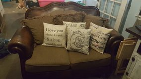 Rustic Couch And Love Seat in Lawton, Oklahoma