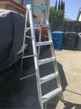 Louisville 6ft ladder 225 lb  capacity in Vacaville, California