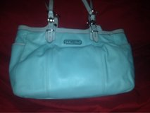 new baby blue authentic coach purse in Las Vegas, Nevada