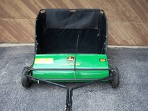 JOHN DEERE 42 INCH  24 CU FT TOW BEHIND TRACTOR SWEEPER -USED (LIKE NEW) in Chicago, Illinois
