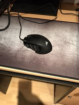 Corsair Gaming SCIMITAR Pro RGB Gaming Mouse, Backlit RGB LED, 16000 DPI, Black Side Panel, Optical in Ramstein, Germany