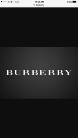 Burberry in Los Angeles, California