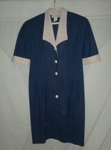 Short Sleeve Dress - Navy - 14P in Naperville, Illinois