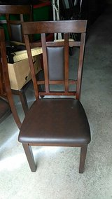 6 matching chairs matching dining room table in Naperville, Illinois