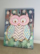 Owl Wall Canvas in Glendale Heights, Illinois