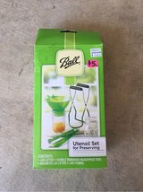 Ball 4 piece Canning Utensil Set in Travis AFB, California