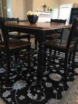 Price Reduced! Drop leaf High Table / 4 Chairs in Baytown, Texas