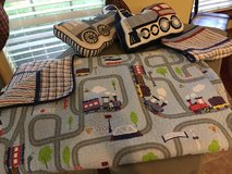 Boys Bedding and and Train Picture in Kingwood, Texas
