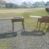 Vintage sewing machine cabinets.. in Leesville, Louisiana