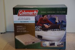 Coleman QuickBed Plus Single High Airbed with 4D Built-in-Pump NIB in Phoenix, Arizona