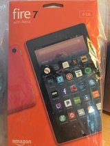 "Amazon Fire Tablet 7"" N.I.B. with Alexa in Conroe, Texas"