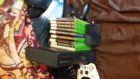 Xbox360 with Games and controllers in Fort Leonard Wood, Missouri
