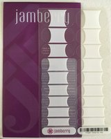 New Jamberry Nail Wraps - White Tip - Mid in Camp Lejeune, North Carolina