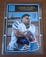 Dalllas Cowboys Rookie Cards Prescott/Elliott in El Paso, Texas