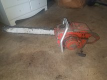Vintage Chainsaws and some modern ones and electric chainsaw sharpner in Warner Robins, Georgia