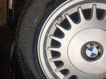 Tire 205 65 R 15 on BMW rim in Lawton, Oklahoma