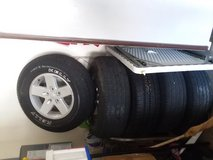 5 Jeep Wrangler Wheels And Tires 265/70/R17 in Lawton, Oklahoma