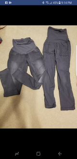 2 pairs of grey maternity pants in New Lenox, Illinois