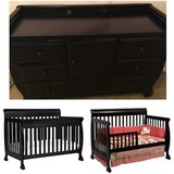 Crib & Changing Table in San Diego, California