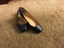 Nine West Navy Blue Leather Flats Size 6.5 in Fairfield, California