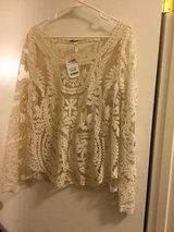 Super Cute Ivory Colored Sheer Blouse in Fairfield, California