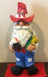 NCAA Nebraska Cornhuskers Team Thematic Gnome in Okinawa, Japan