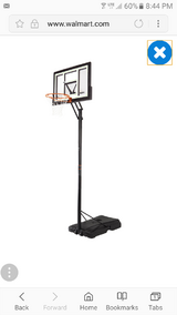 basketball goal in Dover, Tennessee