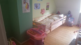 Girls bed and cabinets in Ramstein, Germany