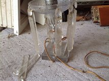 Vintage lamp with Crystals in St. Charles, Illinois