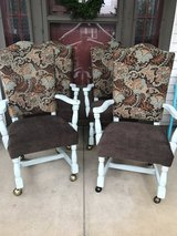 Set of 4 Reupholstered Dining Chairs in Fort Knox, Kentucky