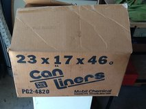 PLASTIC CAN LINERS 40-45 GALLON ---2 boxes in New Lenox, Illinois