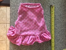Dogs Pink Polka Dot Dress Sz S in Chicago, Illinois
