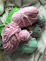 mixed bag of yarn in Clarksville, Tennessee