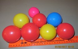 "FREE Plastic ""Ball House"" Type Balls #7, 1 Smaller with Baseball Molding in Glendale Heights, Illinois"