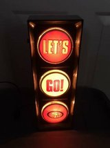 "SF 49ers Bar Lamp & License Plate Holder - ""Let's Go 49ers light - New in Box in Bolling AFB, DC"