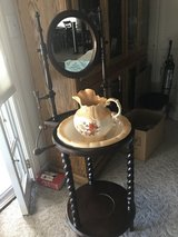 Water basin with bowl with pitcher in Vacaville, California