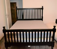 Queen Bed Box Springs and Mattress in Ramstein, Germany