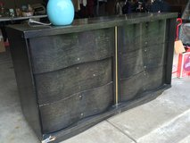 Vintage Black Dresser in Chicago, Illinois