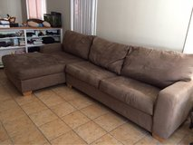 Sleeper Sofa w/ Chaise Lounge in Camp Pendleton, California