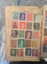 Stamp collection- many more, nazi wartime, bright colors in Buckley AFB, Colorado