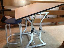 Child's Art Desk, with stool. in Ramstein, Germany