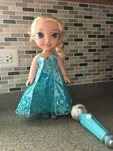 Elsa singing doll and microphone in Yorkville, Illinois
