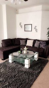 Sectional, coffee table and rug in Fort Hood, Texas