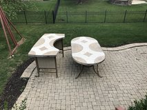 Patio table and bar in Lockport, Illinois